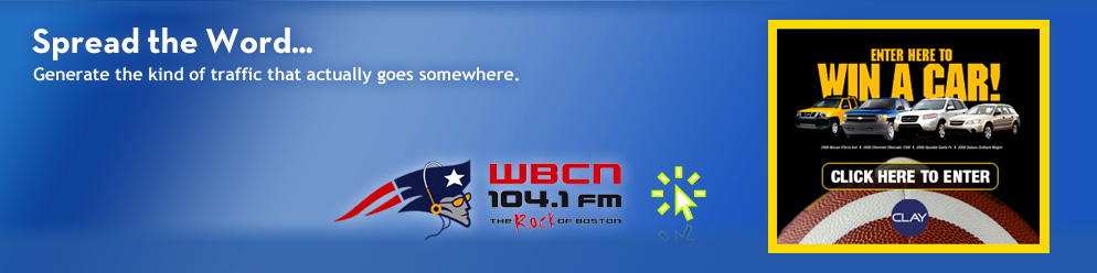 Featured Awethentik Project :: WBCN Patriots Radio Network
